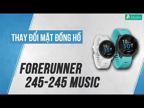 [Hướng dẫn] Thay mặt đồng hồ Garmin Forerunner 245/245 Music
