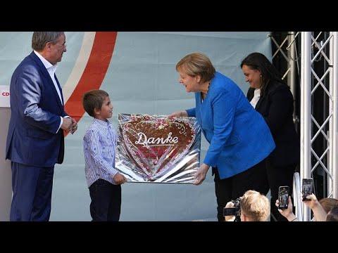 Να ψηφίσουν Λάσετ καλεί τους Γερμανούς η Μέρκελ