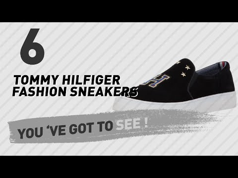Tommy Hilfiger Fashion Sneakers For Women // The Most Popular 2017