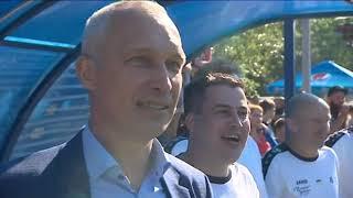 """Все голы благотворительного матча """"Легенды футбола""""!"""