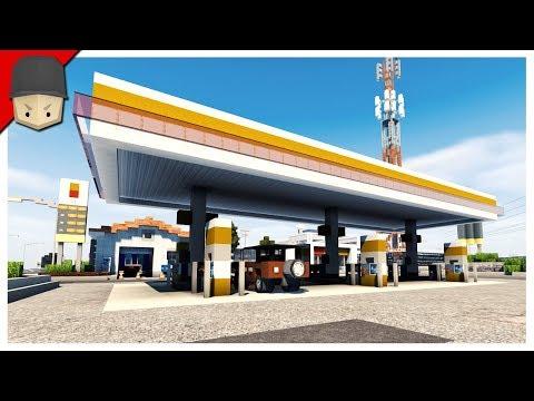 Minecraft - Gas Station & Car Wash!