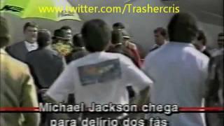 Sandy & Junior Recebendo Michael Jackson