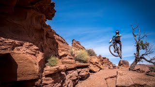 Following Kyle Mears down the most brutally technical section of trail in Moab.