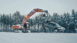Особенности национального дрифта. Mercedes E-Сlass за 50 тысяч рублей.
