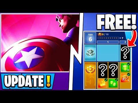 new fortnite update endgame event skins free battle pass s9 banned - new fortnite avengers event