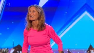 Britain's Got More Talent 2018 70 Year Old Ann Cooper Audition S12E06 - Video Youtube