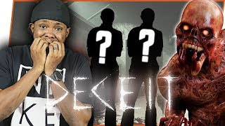 ONE OF OUR FRIENDS IS TRYING TO KILL US! WHO IS IT? - Deceit Gameplay