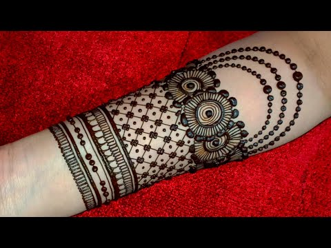 bridal mehndi filling design by blossom of love