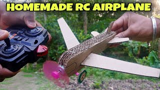 How To Make A Remote Control Airplane At Home. Make homemade RC Plane, Drone, Airplane etc. UN CRAFT