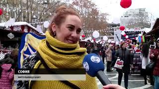 Новогодняя атмосфера в Баку