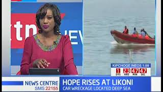 Hope rises at Likoni channel as Kenya navy prepares to retrieve car wreckage.