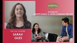 eveRIAthing Features Actress Sarah Giles