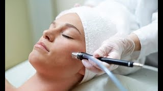 trying a microblading facial