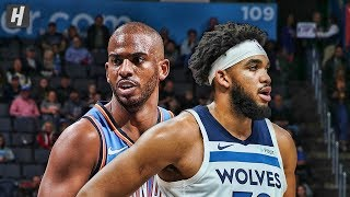 Minnesota Timberwolves vs Oklahoma City Thunder - Full Highlights | December 6 | 2019-20 NBA Season