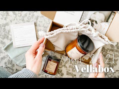 Vellabox Unboxing March 2021