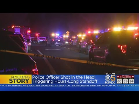 Antioch Police Officer Shot; Suspect Surrenders After Standoff