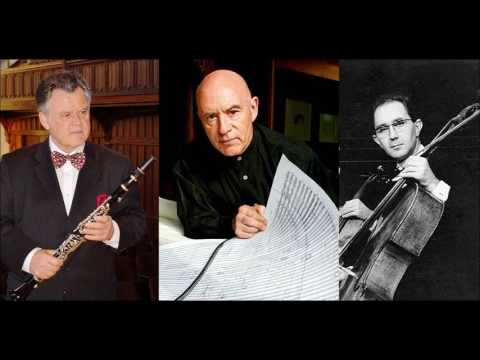 Johannes Brahms Trio for Piano Clarinet and Cello in A minor Op.114, Eschenbach/Leister/Donderer