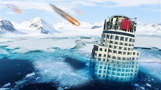 GTA 5 - EXTREME Weather in Los Santos!! (Ice Age)