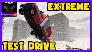 BeamNG drive - Ambulance Extreme Test Driving - Drive it until it Fails!