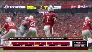KPNX Phoenix: Cardinals Locker Room