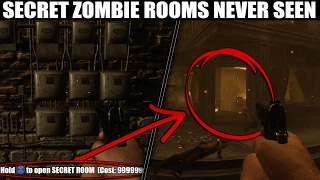 SECRET NEVER SEEN ZOMBIE ROOMS!! (Call of Duty Black ops 2)