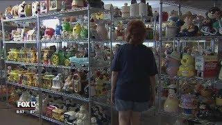 Cookie Jar Collection Fills Womans Home
