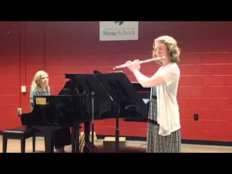 This video includes a piece I composed for piano and oboe.