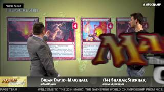 World Championship 2014 Tournament Center Deck Tech with Shahar Shenhar: Treasure Red