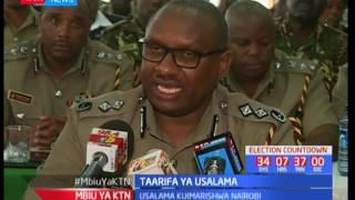 Taarifa ya usalama : Maafisaa wa polisi kutumwa vitongojini