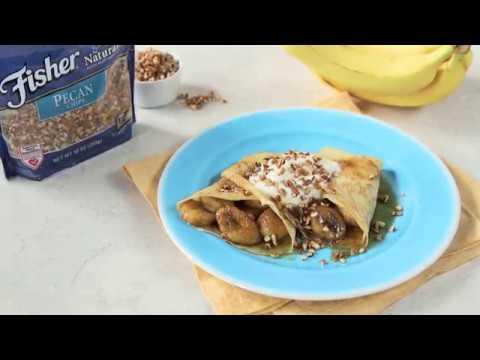 Bananas Foster Crepes Recipe