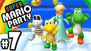 Super Mario Party - 2 Player - Dry Bones & Koopa Co-Op - Nintendo Switch Gameplay Walkthrough PART 7