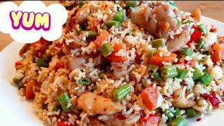 Chicken Fried Rice Restaurant Style ~Easy Dinner under 30 minutes