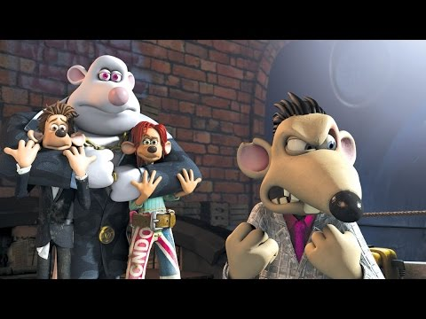 Flushed Away The Video Game All Cutscenes Walkthrough Gameplay