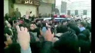 The Syrian Uprising - First recorded demonstration in Damascus