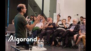 Silvio Micali's Lecture on Algorand