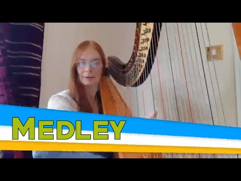 The Gloucestershire Harpist Video