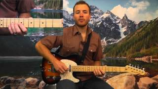 I've Been Waiting Solo by Richard Lloyd Guitar Lesson @ www.radyguide.com