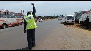 Kenya's notorious traffic officer caught on camera receiving