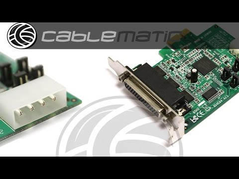 Tarjeta PCI-Express PCIe serie 16C950 4 puertos con alimentación distribuido por CABLEMATIC ®