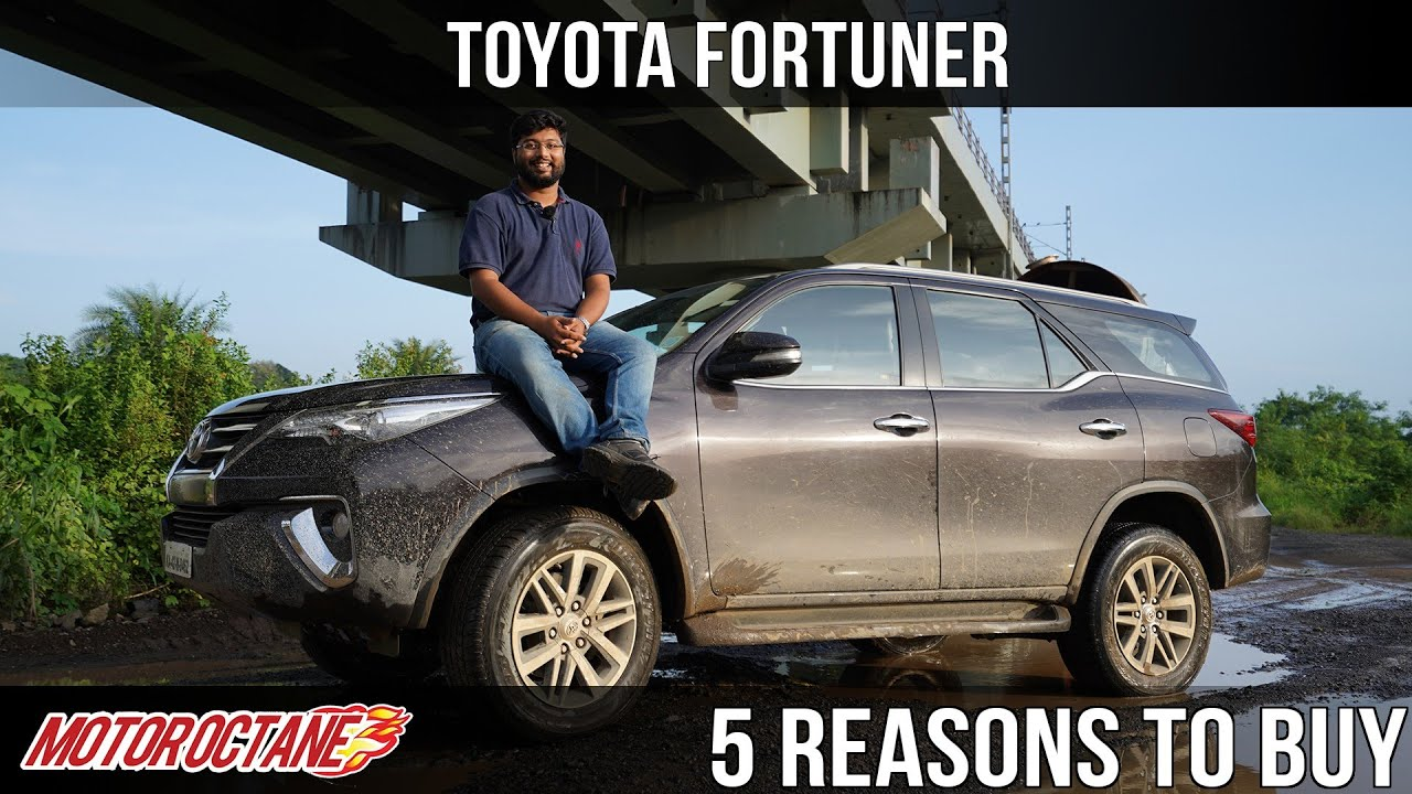 Motoroctane Youtube Video - 2019 Toyota Fortuner - 5 Reasons to Buy | Hindi | MotorOctane