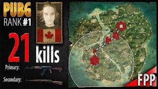 New Map - Dylhero 21 kills [NA] Duo FPP - PLAYERUNKNOWN