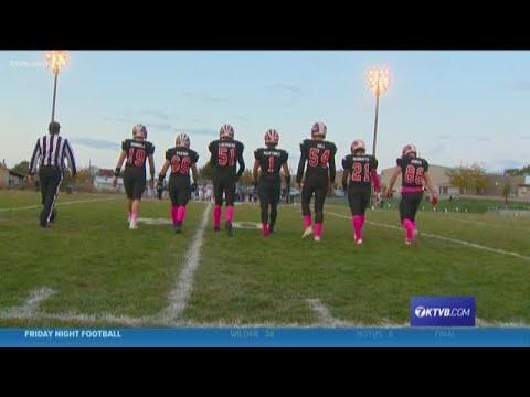 Class 2A Football Highlights: New Plymouth Pilgrims vs. Melba Mustangs