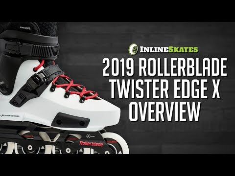 Video: 2019 Rollerblade Twister Edge X Urban Inline Skate Overview by InlineSkatesDotCom