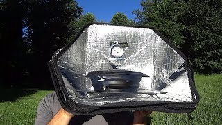 Sunflair Mini Portable Solar Oven Review.