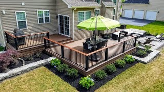 Full Backyard Renovation - Deck, Patio, And Landscaping