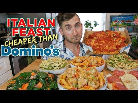 What You Can Cook For The Price of A Domino's Pizza