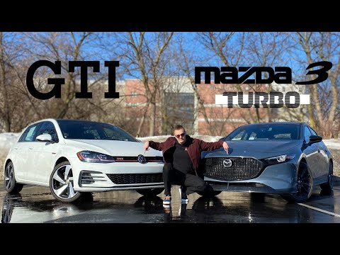 Can The 2021 Mazda 3 Turbo Match The Hot Hatch Benchmark VW GTI?