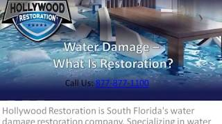 Water Damage Restoration Company in Florida: The Basics of Restoration
