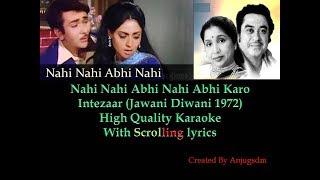 Nahi Nahi Abhi Nahi || Jawaani Deewani 1972   - YouTube