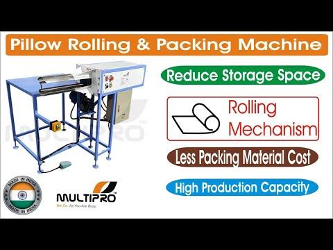 Pillow Rolling Machine / Pillow Roll Packing Machine